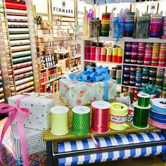 Retail Quarter Melbourne for REED GIFT FAIRS.  Finmark's full range of Ribbons, Raphia and Gift Wrap on display. Visit us for tips, advice and the largest range of colour.