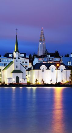 Reykjavik, capital city of Iceland