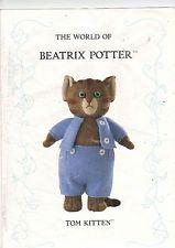 "THE WORLD OF BEATRIX POTTER ALAN DART KNITTING PATTERN CUTE ""TOM KITTEN"" USED"