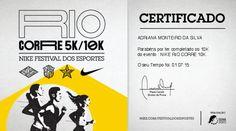 Certificado Nike Corre