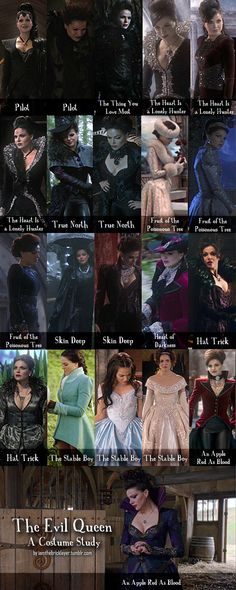 Once Upon A Time - Evil Queen: A Costume Study, Lana Parrilla