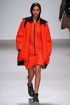 11 Cold-Weather Trends London Says You Should Try #refinery29  http://www.refinery29.com/2015/02/82953/london-fashion-week-trends-fall-2015#slide-19  Bit Of QuiltIn the cold temps, there's never a bad time for extra insulation. Thin, small-stitched quilting adds warmth but not bulk. It's also a nice texture that can work for inner and outer wear. Christopher Raeburn...