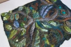 More stunning work by Jackie Cardy Textiles ♥♥♥
