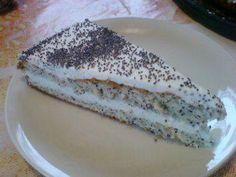 Mohn-Marzipan-Torte - Rezept mit Bild