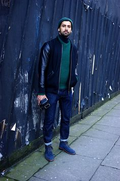 Street Style - Amar Daved, London Collections: Men