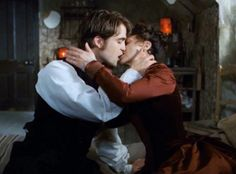 Bel Ami with Robert Pattinson. I want him to be with her :'(