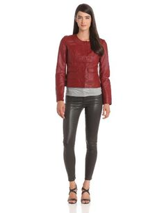 KUT from the Kloth Women's Scoop Neck Comfort Faux Leather Jacket, Scarlet, Medium KUT from the Kloth,http://www.amazon.com/dp/B00CDBVS1O/ref=cm_sw_r_pi_dp_2s9csb0CRWG8KBSE