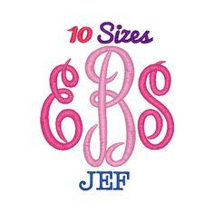 Master Circle 10 sizes JEF format https://www.etsy.com/listing/245535385/master-circle-monogram-embroidery-font
