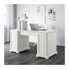 LIATORP Schreibtisch - weiß - IKEA