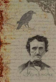 When you think of ravens, don't you automatically think of Edgar Allen Poe?  (Poor Edgar...)