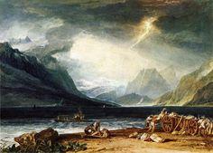 The Lake of Thun, Switzerland - William Turner, 1806