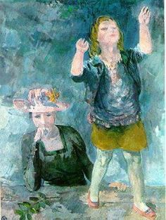 Bernáth, Aurél - Woman with child, 1938 Mother Pictures, Mother And Child, Children, Paintings, Artists, Woman, Mommy And Son, Toddlers, Child