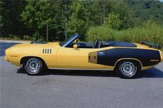1971 PLYMOUTH 383 'CUDA CONVERTIBLE - 4 speed (1of 33)