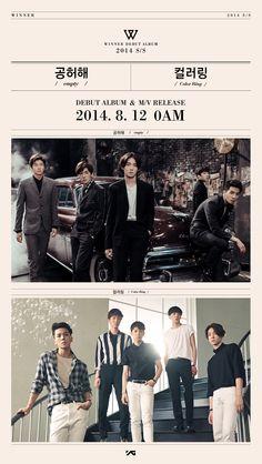 WINNER teases their upcoming debut with new teaser photo! Winner Album, Winner Ikon, Mino Winner, Winner Winner, Akdong Musician, Poster Boys, Album Releases, Running Man, Korean Celebrities
