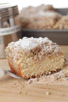 NY Crumb Cake. Made it exactly as instructed and it was delicious! Took closer to 35min to cook through