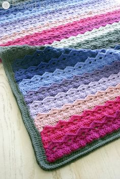 Royal Icing Blanket Crochet Pattern