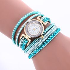 Korean Style Crystal Strap Watch sold by Watch Me. Shop more products from Watch Me on Storenvy, the home of independent small businesses all over the world.
