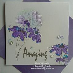 Amazing Daisy lamination stamp by Stamps By Me Handmade Birthday Cards, Handmade Cards, Dorothy Roberts, Print Thank You Cards, Card Drawing, Die Cut Cards, Altenew, Watercolor Cards, Flower Cards