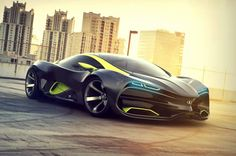 Lada Raven supercar concept 2015 - Architecture & Engineering