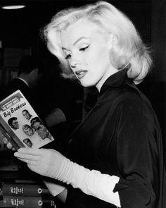 Marilyn Monroe was an avid reader!