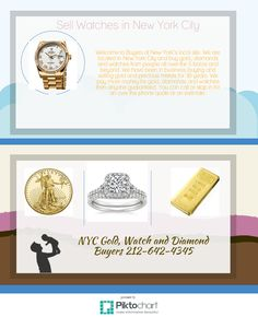 Sell Watch NYC and Gold jewelry, diamonds and more to a reputable gold buyer in Manhattan's Diamond District.