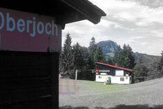 Allgäu - Oberjoch Skilifte im Sommer.