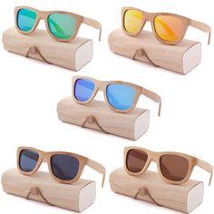f8605a33a26 Bamboo Sunglasses Wooden Vintage Retro Mens Eyewear Summer Women Uv400  Fashion !  BambooSunglassesWoodenChina  Square