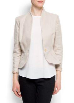 Mango Womens Suit Jacket