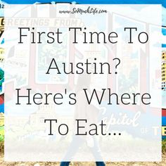 Visiting Austin for the first time? Here's where you should eat! Visit Austin, Austin Tx, Road Trippin, Continue Reading, First Time, Just For You, Messages, Writing, This Or That Questions