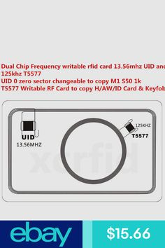 Ingenious Lucking Door 10 Pcs Duplicator Em4305 T5577 Clone Proximity Badge Writable Rewrite Copy 125khz Rfid Tag Card High Quality And Inexpensive Access Control Security & Protection