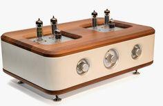 High end audio audiophile Auris Audio Alegro integrated amplifier Vacuum tube stereo hi fi