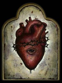 EYE can see inside your heart...