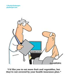 Diet, Health, Fitness and Medical Cartoons by Randy Glasbergen
