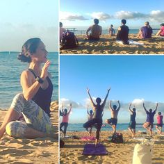Had so much fun kicking off #emw17 with morning #yoga on the beach! Thanks to everyone who came out bright and early to start the day and the conference right. It's been a great day so far and we're still just getting started.