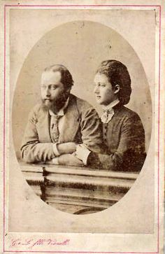 Prince Albert Edward of Wales and Princess Alexandra of Wales