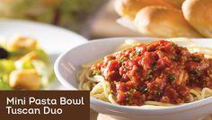 Tuscan Duo - Starting at $6.99 | Lunch & Dinner Menu | Olive Garden Italian Restaurant