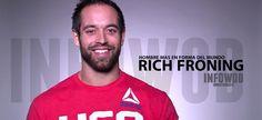Cuatro veces campeón de los CrossFit Games, Rich Froning es un referente en…