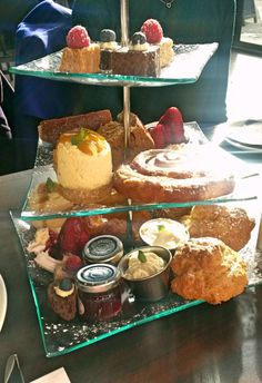 Afternoon tea at the Hyde Bar Glasgow