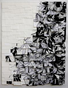 Raymond-Saa- wall installation.  too cool.