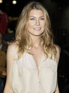 Ellen Pompeo - a favourite actress - star of Grey's Anatomy (my favourite TV show ever!)