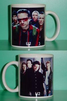 U2 Bono 2 Photo Designer Collectible Mug 02... NEED,NEED, NEED, NEED!!!
