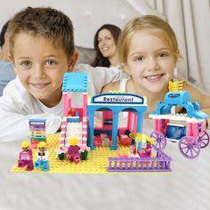 Kids Girls Minifigure Princess Dinings Educational Toys Building Blocks Bricks #Unbranded