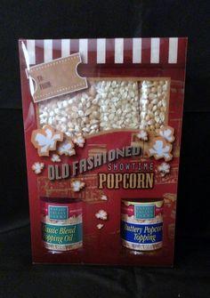 Old Fashioned Complete Popcorn Gift Set - hmsgp