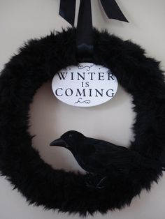 In honor of season 3 Game of Thrones, just a couple of weeks away!!  Winter is Coming !