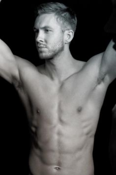 Pin for Later: Calvin Harris Posts a Shirtless Instagram Snap Following His Scary Car Crash