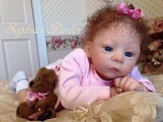 "Private Custom Sale for Darlene5891 Reborn Baby 22"" Doll Harlow Laura Tuzio Ross"