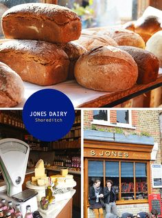 Jones Dairy in London's East End. Photos by Spotted SF.