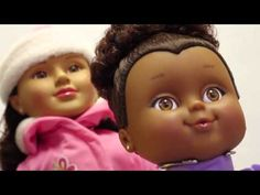 Positively Perfect Dolls / through this website a collection of African American and Latina dolls can be purchased (they are also sold in Wal Mart, it seems)