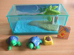 Turtles I'd like to do something like this with polymer clay
