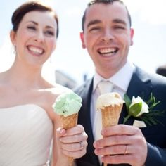 We all scream for Ice Cream and the magical details in this gorgeous summer wedding in Ireland